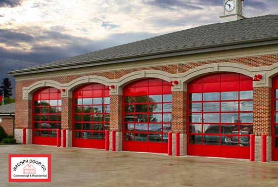 St louis aluminum commercial garage doors aluminum for Garage door repair st louis mo