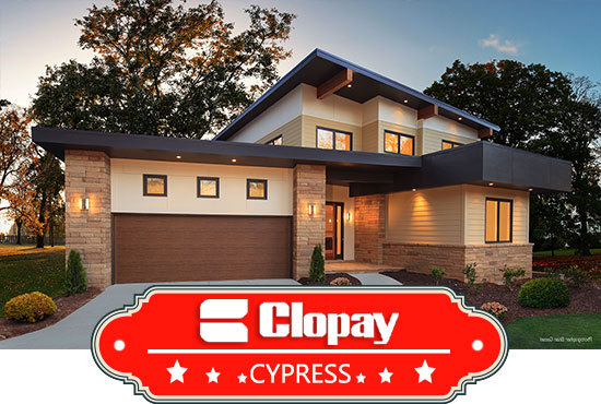 St louis cypress garage doors cypress collection garage for Cost to build a garage st louis